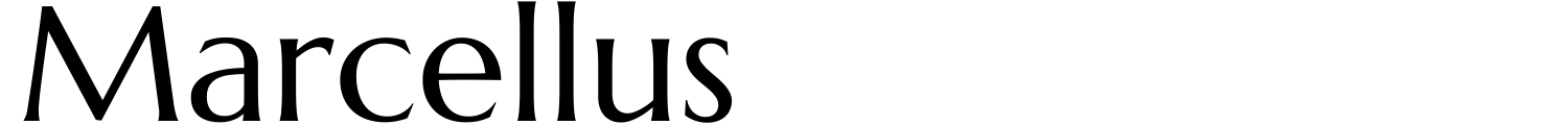 Marcellus字體(Marcellus Font)